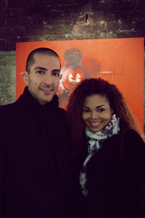 Janet-Jackson-and-Wissam-Al-Mana London